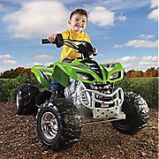 ride on power wheels kfx 4 wheeler by mattel