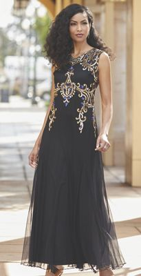 Lexa Beaded Dress