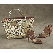 ambrosia tote and sandal