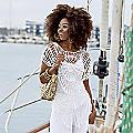 Paulina Crochet Top