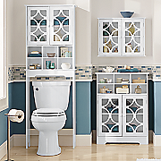 lattice bathroom furniture