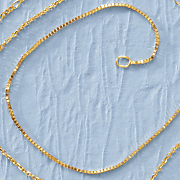 14k gold box chain