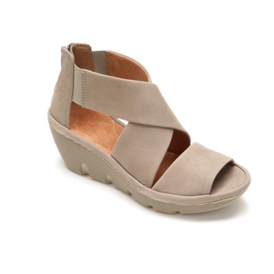 Clarene Glamour Wedge by Clarks