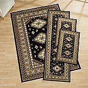 4 pc  tres rug set