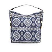 southwest tapestry hobo bag by sondra roberts