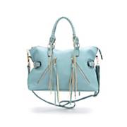 rebecca   rifka side buckle satchel