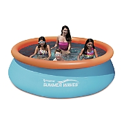 10 foot 3 D Quick Set Pool by Summer Waves