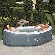 saluspa siena air jet inflatable spa by bestway