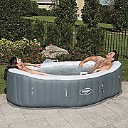 saluspa siena air jet inflatable spa by bestway