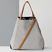 embroidered reversible tote by under one sky