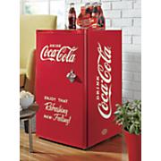 compact coca cola refrigerator