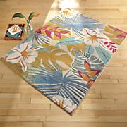 flower jungle rug