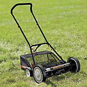 18   5 blade adjustable reel push mower by remington