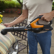 cordless sweeper blower by worx