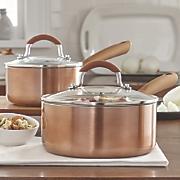 deleted 6749937  ginny s brand 4 pc  ceramic copper saucepan set  moved to j6