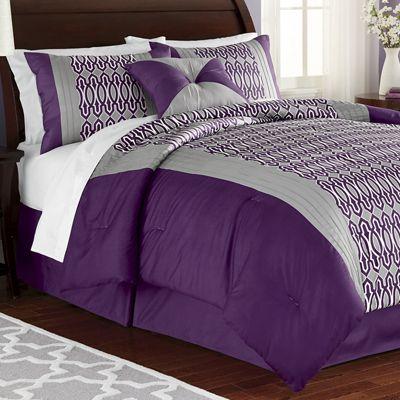 Mckinley Comforter Set, Window Treatments and Decorative Pillow