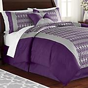 mckinley comforter set  window treatments and decorative pillow