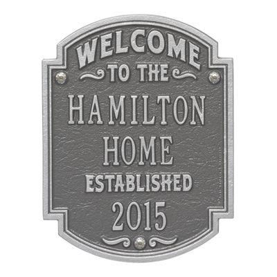 Heritage Welcome Plaque