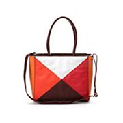 colorblock satchel by midnight velvet