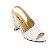 side drape sandal by classique