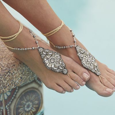 Bead/Crystal Foot Jewelry