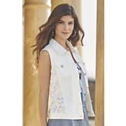 lace back vest 45