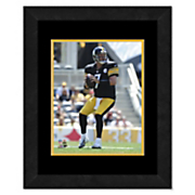 framed nfl player photo