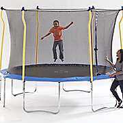 12  diam  trampoline with enclosure combo by sportspower
