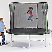 10  diam  trampoline with enclosure combo by sportspower