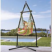 flower bird hammock chair  pillow and base