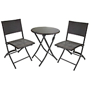 3 pc  wicker bistro set 11