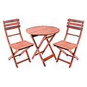 3 pc  rustic bistro set