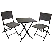 3 pc  wicker bistro set 17