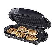 5 serving removable plate grill by george foreman