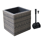 wicker deck or balcony pond kit