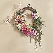 bright rose wreath