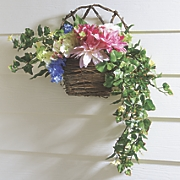 dahlia wall basket
