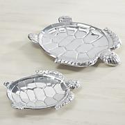 set of 2 turtle trays