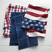 set of 3 americana towels