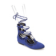 lace up high back shoe by seventh avenue