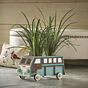 vintage camper planter