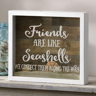Friends Are Like Seashells Art