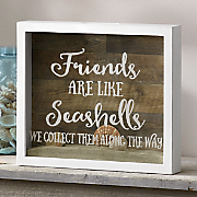 friends are like seashells art