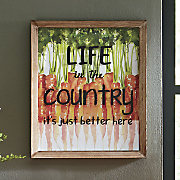 life in the country art