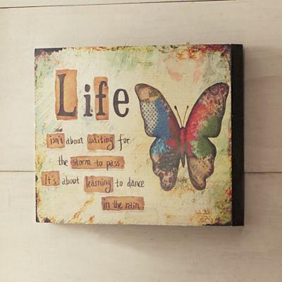Life Butterfly Art