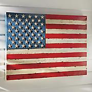 metal flag