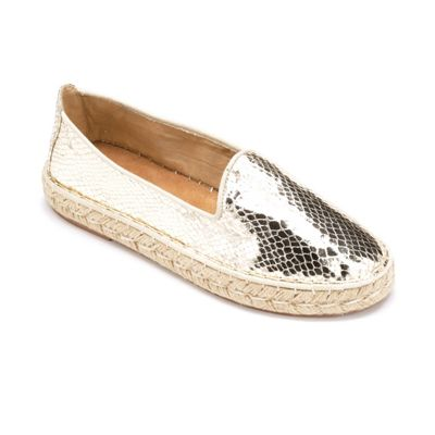 Golden Espadrille by Midnight Velvet