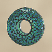 calamba mosaic glass bird feeder