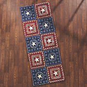 bandana americana indoor outdoor mat