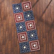 bandana americana indoor outdoor mat